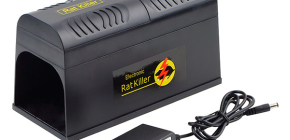 השימוש במלכודות חולדה חשמליות לשליטה במכרסמים