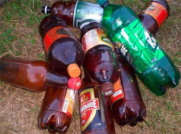 A kert körül szétszórt műanyag palackok is megriaszthatják az állatokat a hőmérséklet-változások során kibocsátott tőkehal miatt.