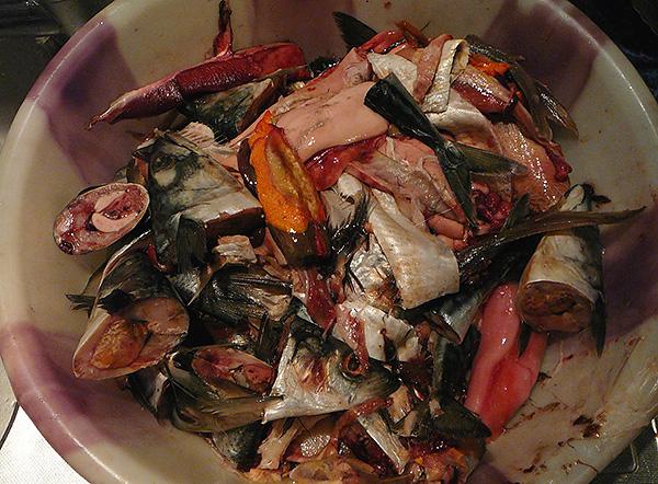 A rothadt hal nagyon népszerű népi eszköz a vakondok megriasztására.