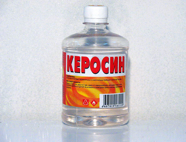 Különböző szagos folyadékok, például petróleum is felhasználhatók.