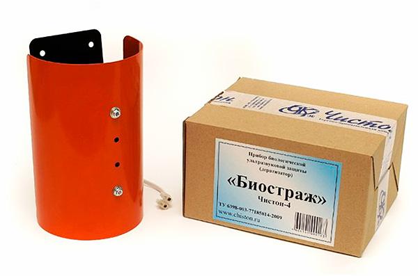 Chiston-4 Biostrazh est un répulsif à ultrasons d'une puissance accrue et qui vous permet de protéger une zone allant jusqu'à 500 mètres carrés. m
