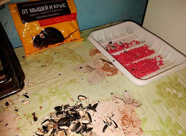 Le poison à base de rat a longtemps été légitimement populaire dans l'extermination des rongeurs.