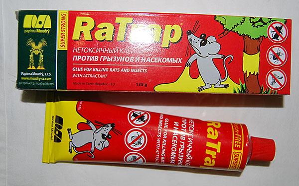 Colle tchèque contre les rongeurs et les insectes RaTrap.