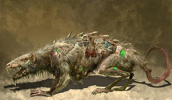 Les soi-disant rats mutants sont une cible fréquente de la fiction.
