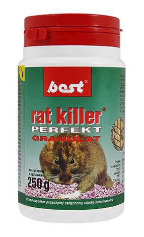 Best - un médicament pour la destruction des rongeurs.