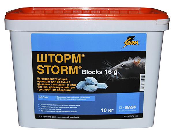 L'outil de destruction de rats et de souris Storm (Storm) - essayez de déterminer son efficacité dans la pratique ...