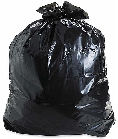 Les restes du poison et du corps des rats et souris morts doivent être emballés dans des sacs poubelles denses pour éviter d'être mangés par des animaux errants.