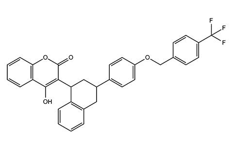 Flocumafen (nagyon hatékony vér antikoaguláns).