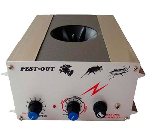 Le répulsif TM-315 se positionne comme un moyen de repousser les rongeurs, les oiseaux et les insectes.