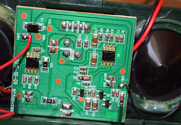 Az elektronikus rágcsáló-riasztó függetlenül összeszerelhető az interneten elérhető áramkörök alapján, azonban egy ilyen eszköz drágább lesz, mint egy ipari változat.